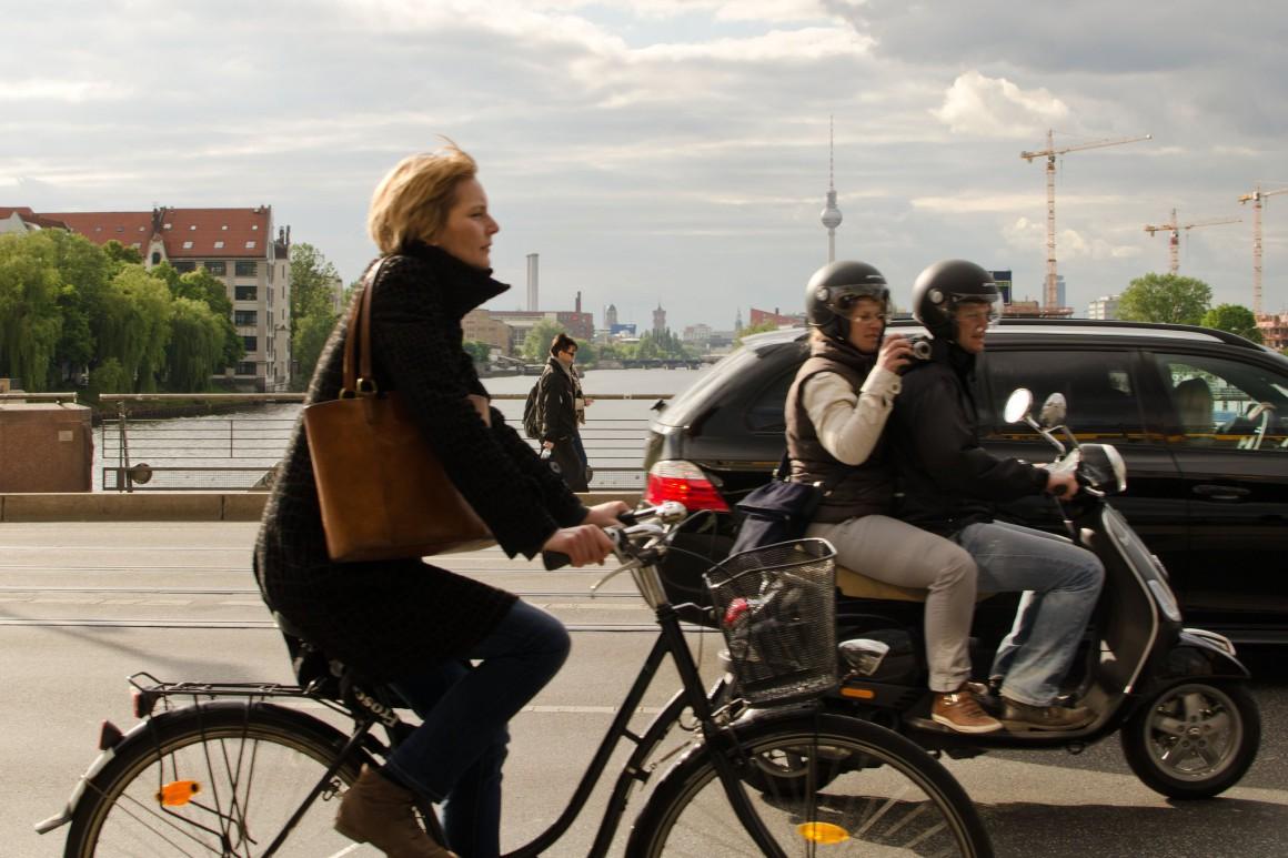 Berlijn verkeer duitsland
