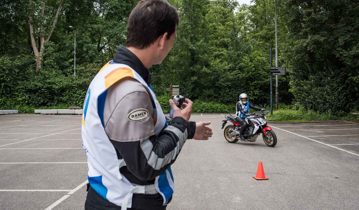 ANWB motor rijles examen