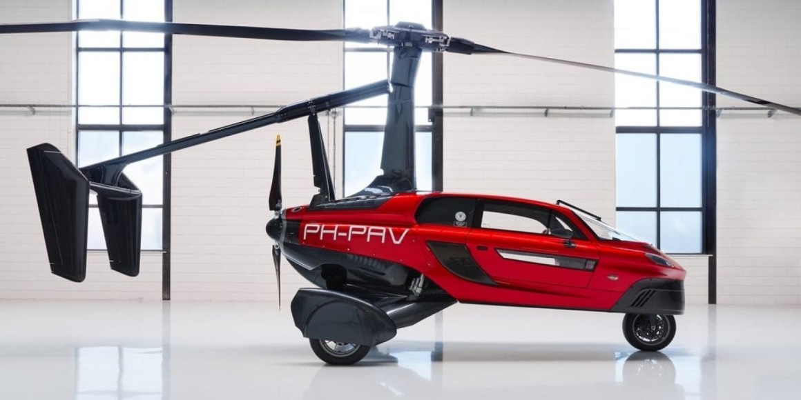 palv vliegende auto