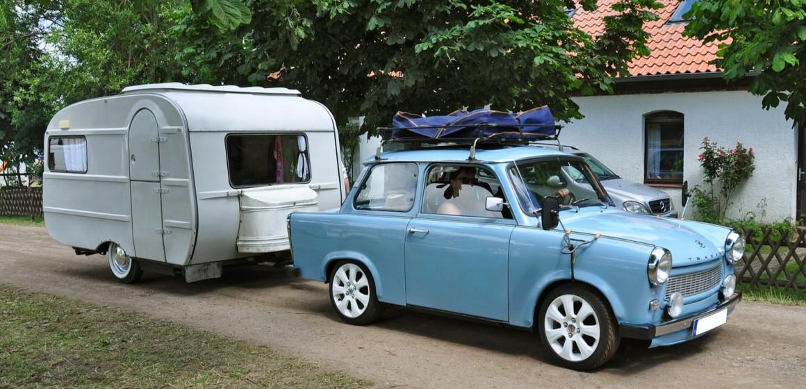 vakantie caravan