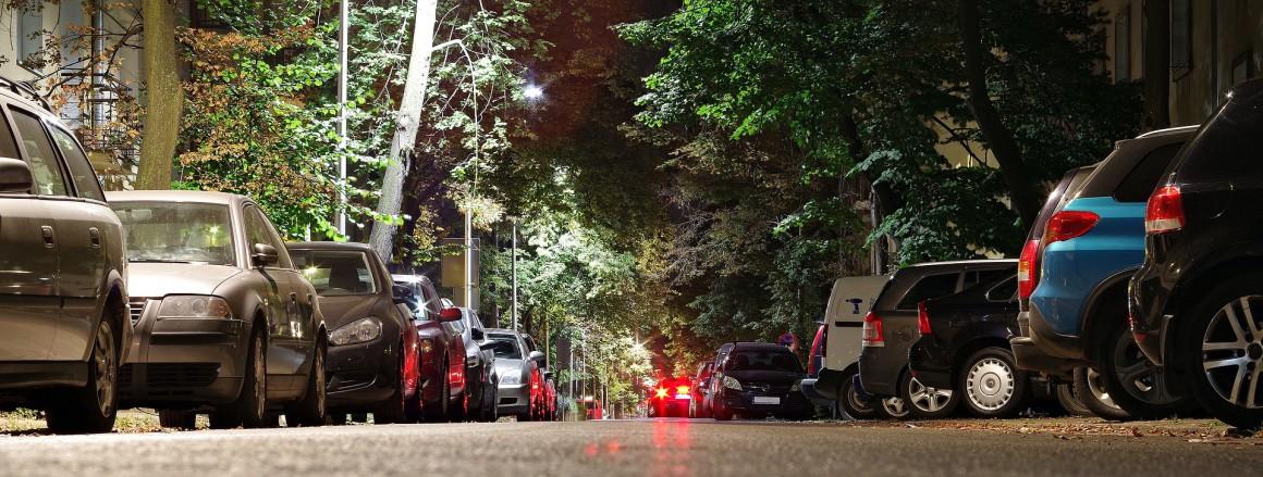 parkeren straat